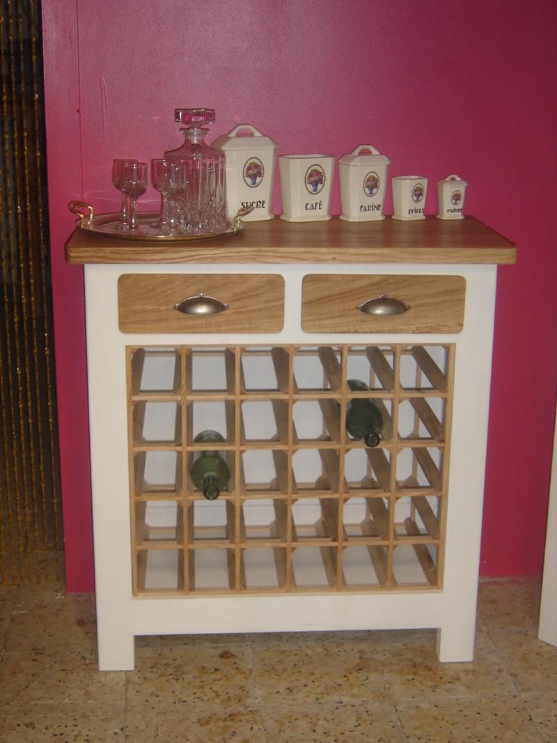 Meuble bouteilles vendu l atelier du rat d 39 acier for Atelier du meuble