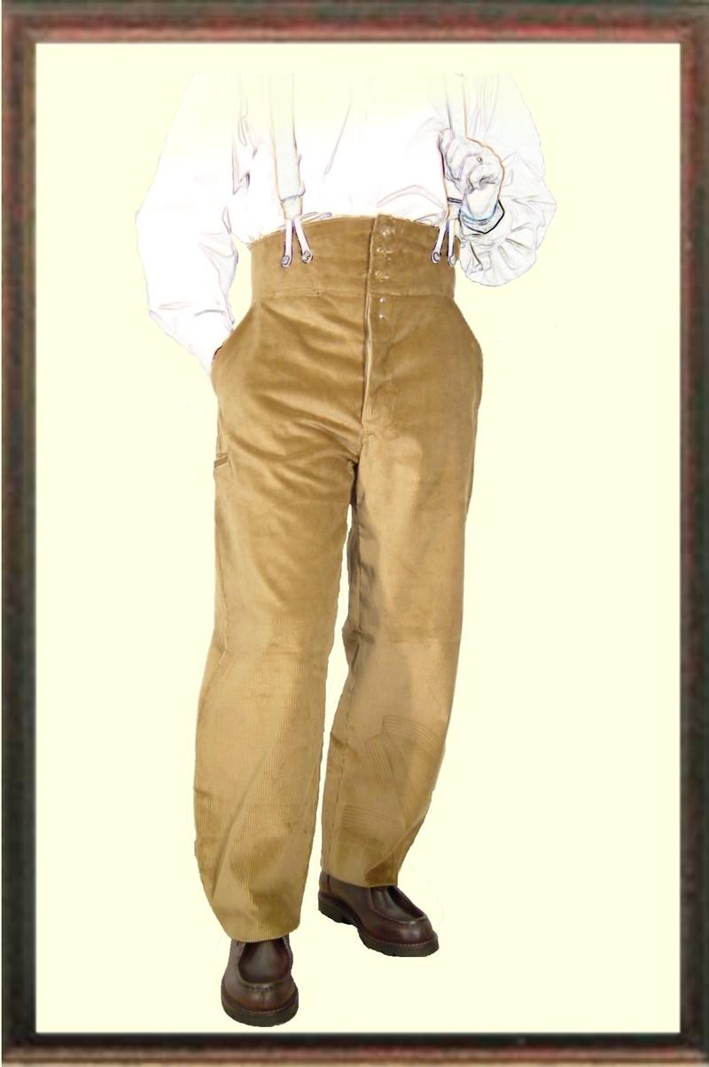 pantalon largeot velours tirant le laboureur vetements de travail benoit abbaye. Black Bedroom Furniture Sets. Home Design Ideas
